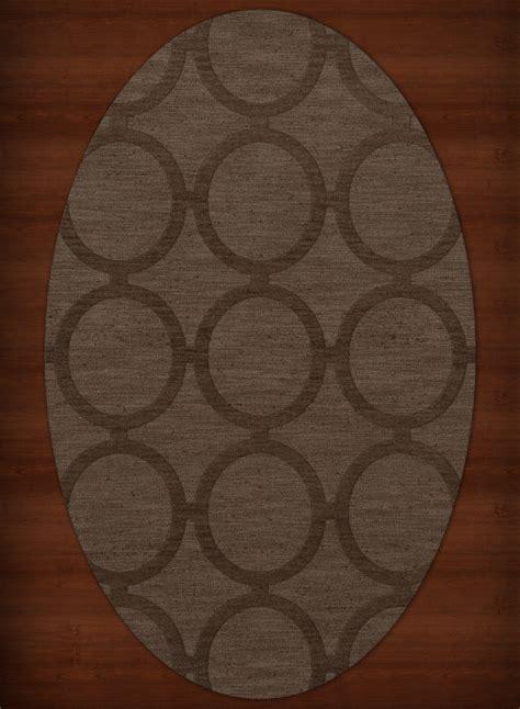 brown rug with circles dalyn circles brown rings loops wool hooked transitional dv14 area rug ebay