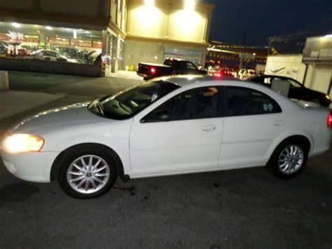 2002 Chrysler Sebring Sedan by Purchase Used 2002 Chrysler Sebring Lx Plus Sedan 4 Door 2
