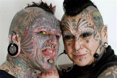 imagenes de tatuajes de querubines conoce a la pareja m 225 s tatuada del mundo