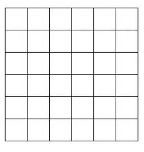 Quilting Graph Paper by Quilting Grid Paper Grids6x6 Pattern
