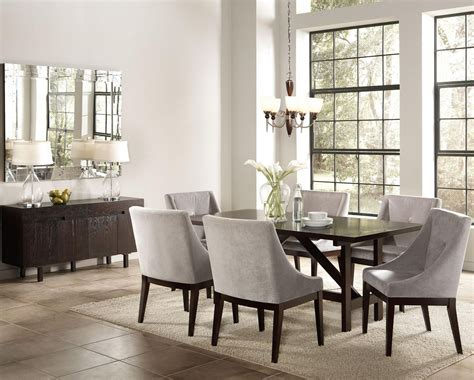 gray dining room chairs coaster 102232 grey fabric accent chair steal a sofa