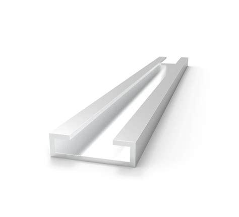 1 x 2 aluminum c channel aluminum c channel slide track 1 26 quot x 276 quot eagle