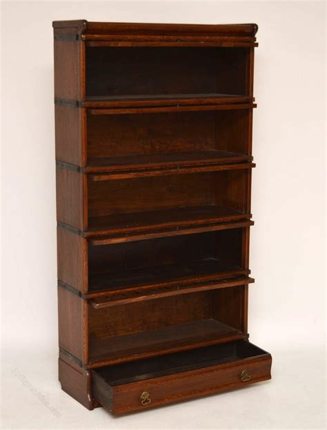 Stacked Bookshelf Antique Oak Globe Wernicke Stacking Bookcase Antiques Atlas