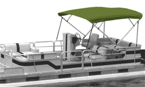 pontoon boat bimini top fabric only boat covers bimini tops for your boat or pontoon