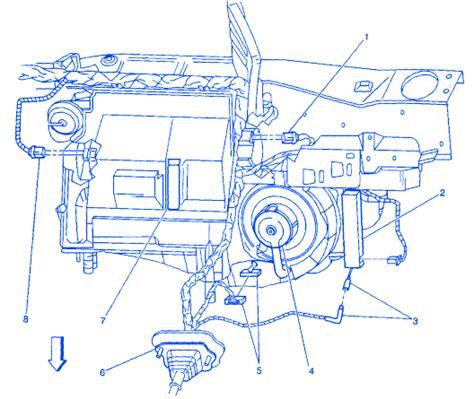 pontiac acadian  blower motor electrical circuit wiring diagram carfusebox