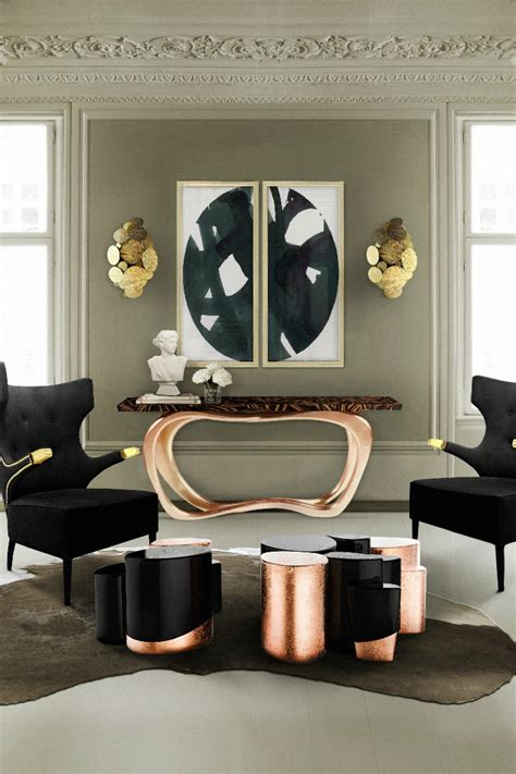 accessories for living room ideas 10 graceful living room ideas with copper details living