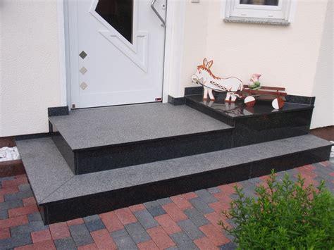 granit nero impala au 223 entreppen eingangstreppen und podesten aus granit oder