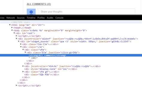 javascript queryselector tutorial javascript selector path for youtube comments returning