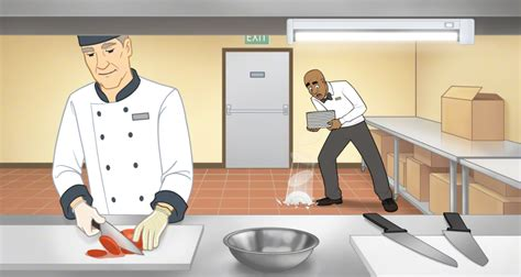 Exles Of Accidents In The Kitchen by Tip Physical Hazards