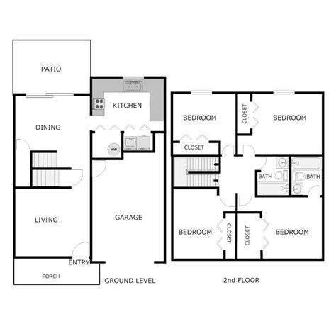 4 bedroom 2 bath 4 bedroom 2 bath townhouse acorn apartments