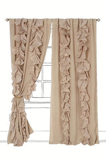 heals curtains ready made on the mend ruffled pleated curtains tutorial