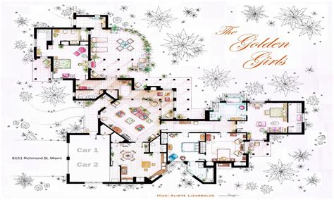the golden girls floor plan golden girls house floor plan golden girls house interior