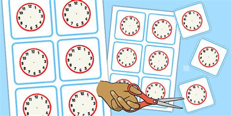 sen printable clocks blank clock faces blank clock faces time blank clock