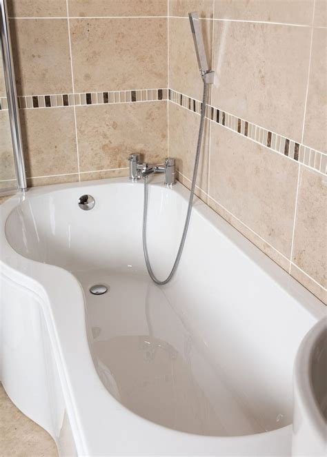 albany bathrooms albany p shape super strong acrylic shower bath right hand