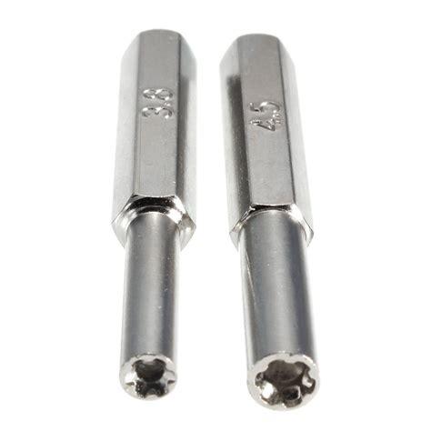 3 8mm 4 5mm security screwdriver tool bit gamebit for