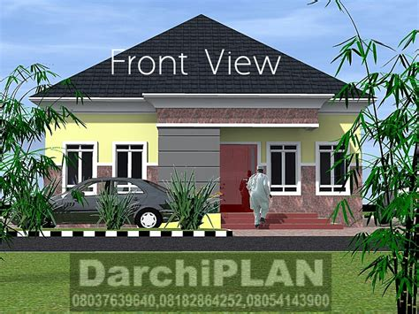 ghanian client 5 bedroom bungalow residential homes and nigeria building style architectural designs by darchiplan
