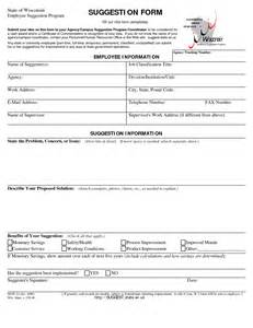 suggestion form template free best photos of suggestion form ideas safety suggestion