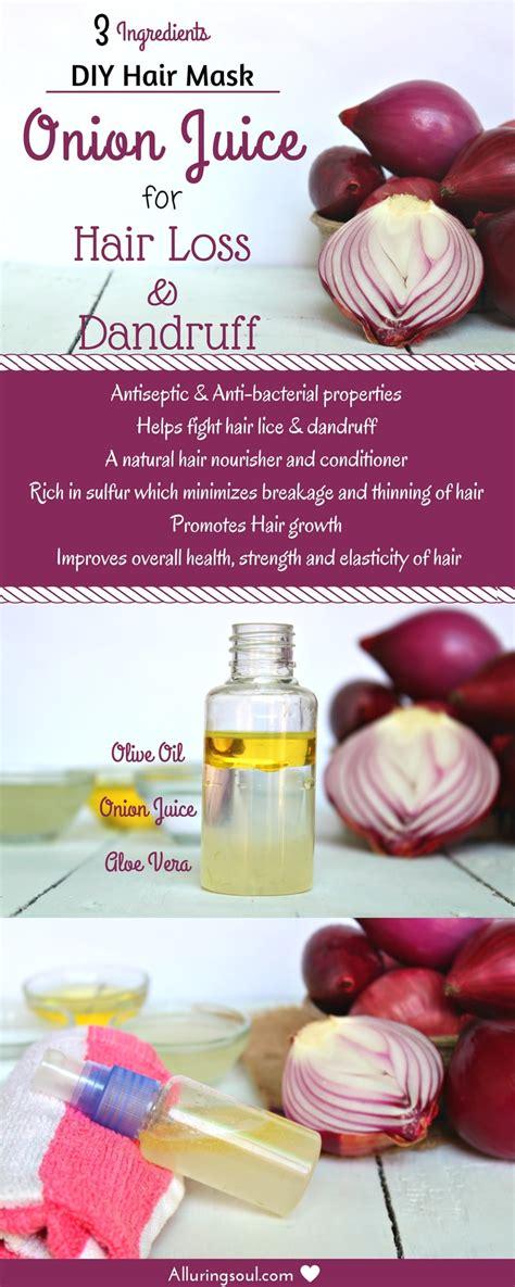 diy aloe vera  onion juice  hair loss  dandruff alluring soul