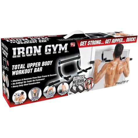 Sale Irongymbar Iron Bar iron total workout bar walmart