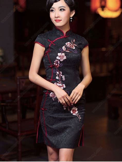 Modern Fashion Cheongsam Black 42 best modern cheongsam qipao images on