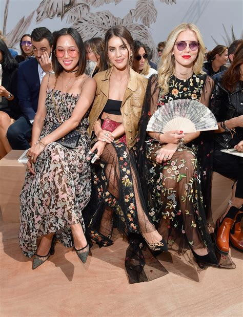 Christian Haute Couture 2008 Front Row by Chiara Ferragni Photos Photos Christian Front Row