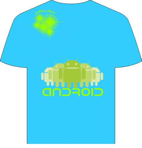 Kaos Android Abu by Kaos Android