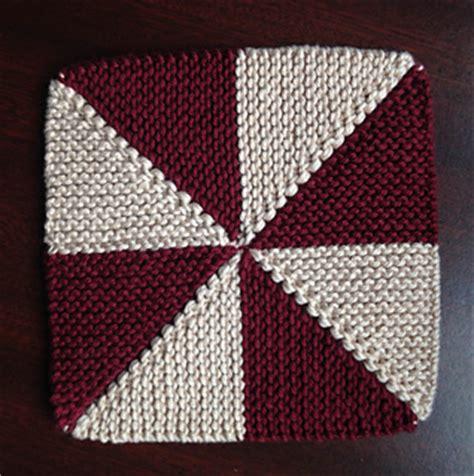 pinwheel knitting pattern ravelry pinwheel dishcloth pattern by jared