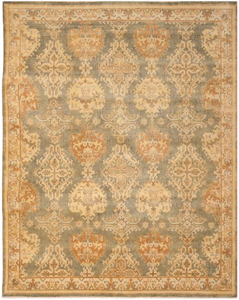 Safavieh Wool Rugs Rug Osh125a Oushak Area Rugs By Safavieh