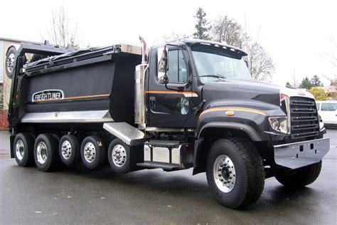 freightliner dump truck pacific truck colors