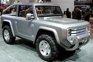 when is the new ford bronco coming out autos weblog