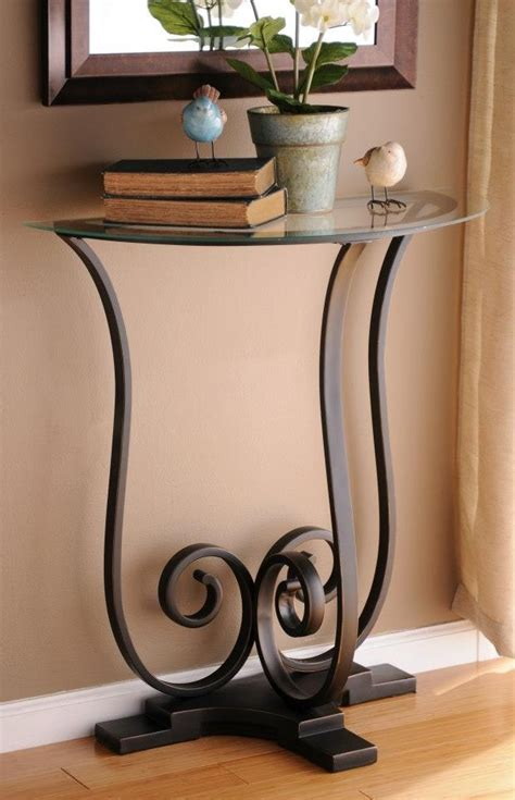 Half Circle Entry Table by Half Circle Console Table Home Decor Inspiration