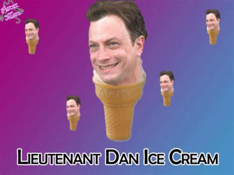 Lieutenant Dan Ice Cream Meme - lieutenant dan gif tumblr