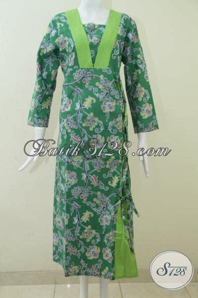Jual Lop Lebaran Panjang by Jual Produk Gamis Batik Terbaru Desain Mewah Berkelas