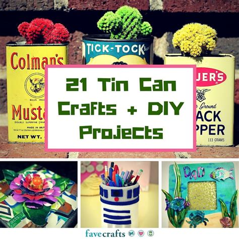 tin can crafts 21 tin can crafts and diy projects favecrafts