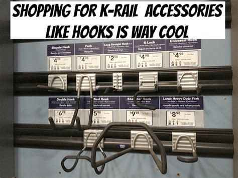 how to install kobalt k rail garage organization ideas get your space optimized and de
