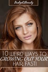 how to get pink color out of hair budget2beauty 10 ways to grow out your hair fast