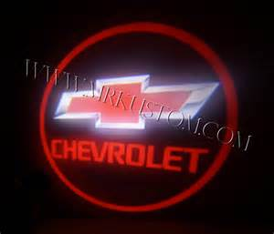 Chevrolet Logo Light Chevy Led Door Projector Courtesy Puddle Logo Lights