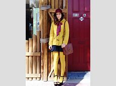 style salt: Mustard Tights and Peep Toe Heels Retro 6 Maroon