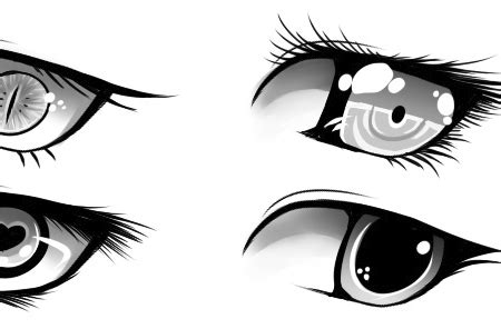 Unique Anime Eyes How To Draw Eyes 25 Tutorials Step By Steps How To S