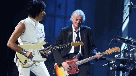 time jeff beck  jimmy page playing immigrant song