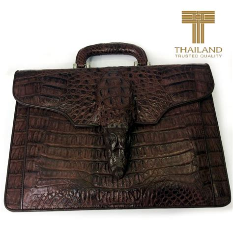 Gesper Rel Crocodille Leather Quality leather bags and shoes made of leather from thailand