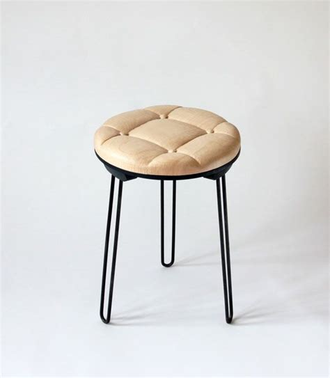 soft stool veronika wildgruber solid oak iron f u