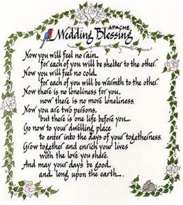 Indian Wedding Prayer Native American Wedding Blessing Apache Wedding Blessing Native American Apache Wedding Love