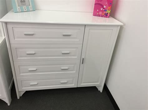 nursery chest of drawers jordon nursery chest 4 drawer chest cupboard white
