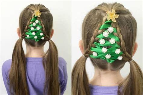christmas tree hairstyle for girls 20 beautiful hairstyles for 2017 sheideas