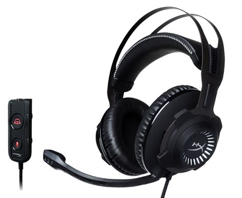 Hyperx Cloud Revolver S Gaming Headset Dolby 7 1 hyperx unveils cloud revolver s gaming headset with dolby headphone 7 1 usb dongle