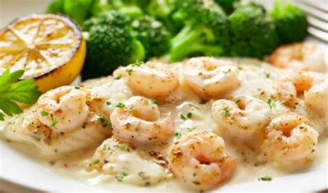 baked tilapia with shrimp and sauce picture of