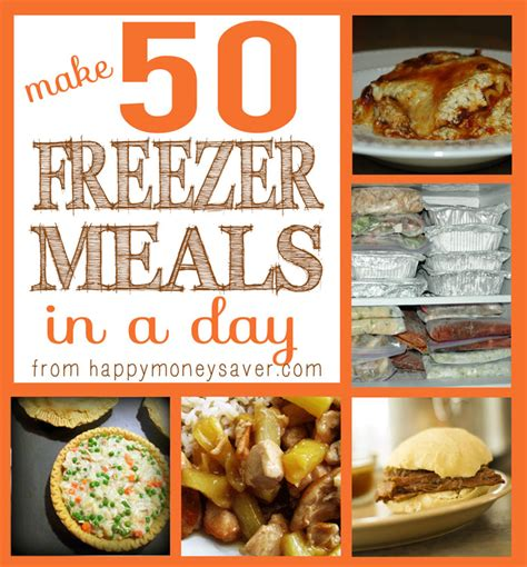 not your s make ahead and freeze cookbook revised and expanded edition books 50 freezer meals in one day happy money saver