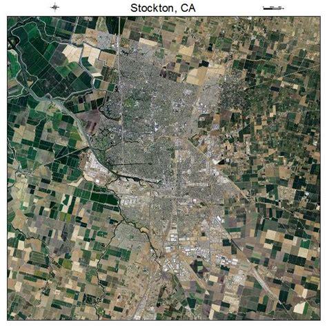 california map stockton aerial photography map of stockton ca california