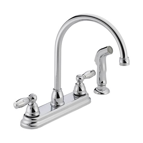 two handle kitchen faucet repair peerless faucet p299575lf two handle kitchen faucet atg stores